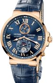 Ulysse Nardin Часы Ulysse Nardin Maxi Marine Chronometer 43mm 266-67/43 Rose Gold