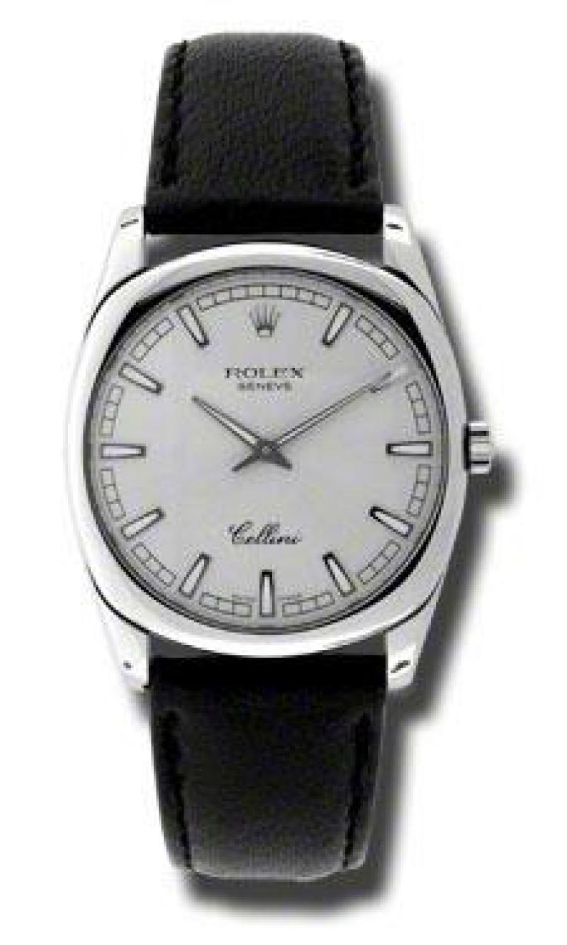 4233.9 ss Rolex Danaos White Gold Cellini