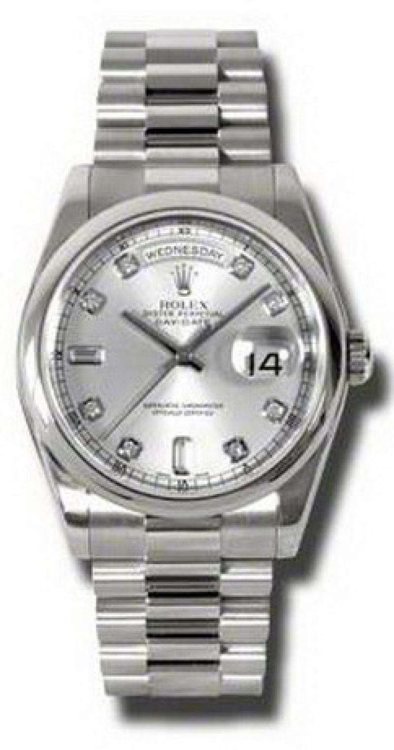 118209 sdp Rolex White Gold Day-Date