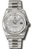 Rolex Day-Date 118209 ssp White Gold