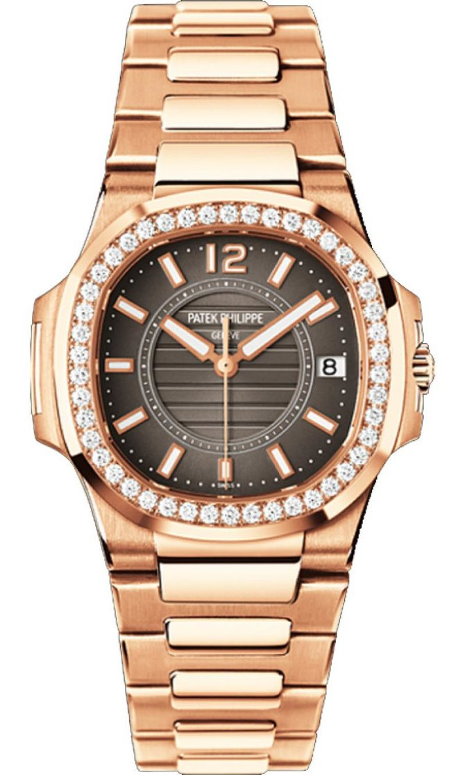 7010/1R-010 Patek Philippe Rose Gold Ladies Nautilus