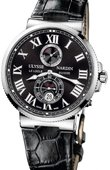 Ulysse Nardin Maxi Marine Chronometer 43mm 263-67/42 Steel