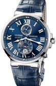 Ulysse Nardin Часы Ulysse Nardin Maxi Marine Chronometer 43mm 263-67/43 Steel
