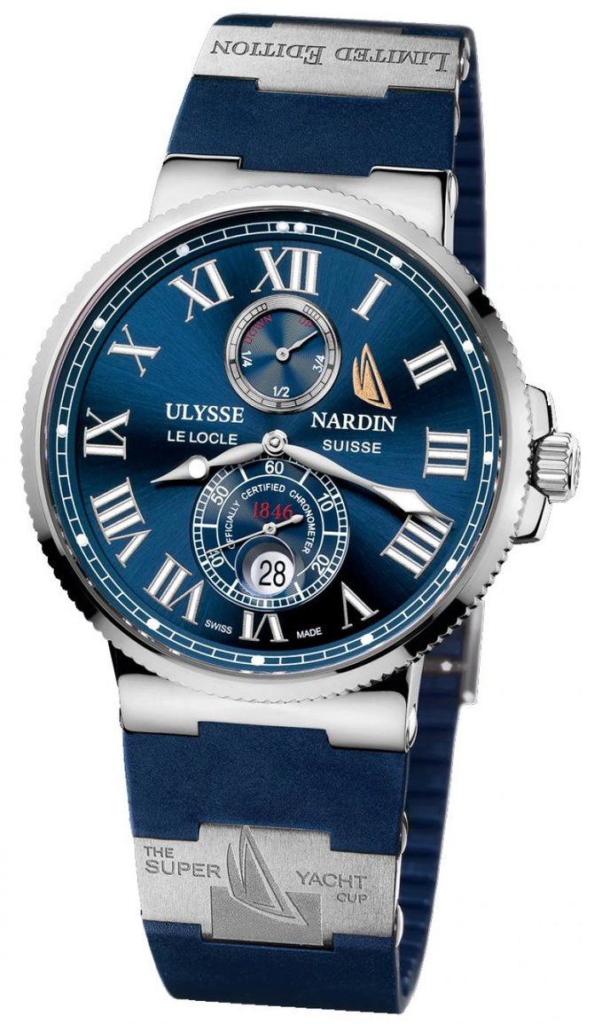 263-67-3/43YAC Ulysse Nardin Super Yacht Cup 2009 Limited Edition 99 Maxi Marine Chronometer 43mm