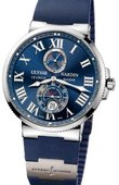 Ulysse Nardin Часы Ulysse Nardin Maxi Marine Chronometer 43mm 263-67-3/43 Steel