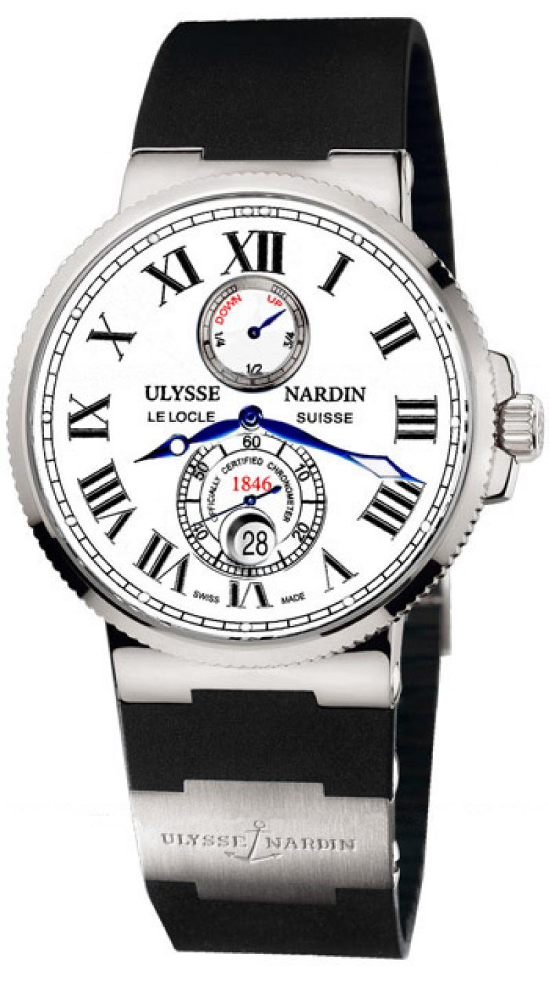 263-67-3/40 Ulysse Nardin Steel Maxi Marine Chronometer 43mm