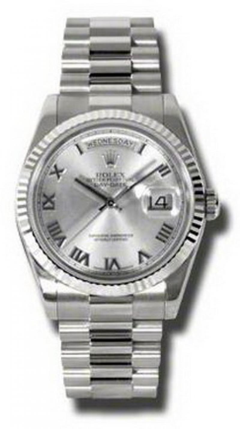 118239 rrp Rolex White Gold Day-Date