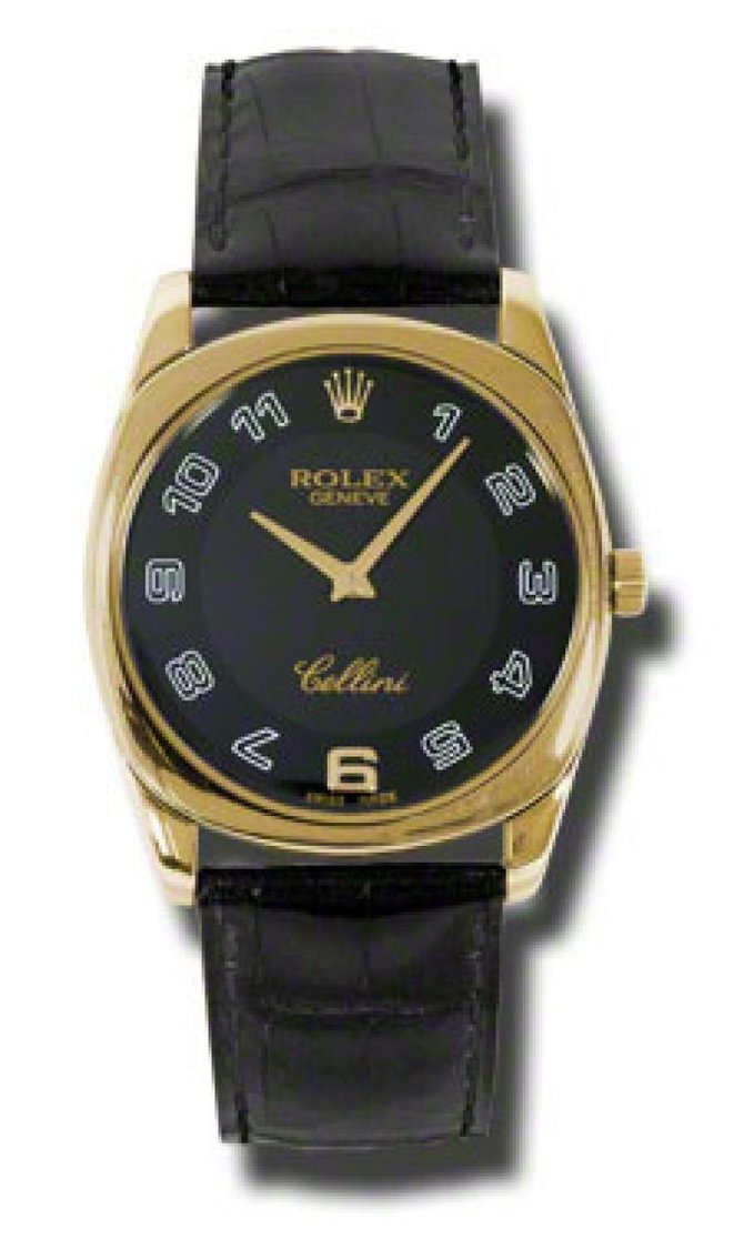 4233.8 bkbk Rolex Danaos Yellow Gold Cellini