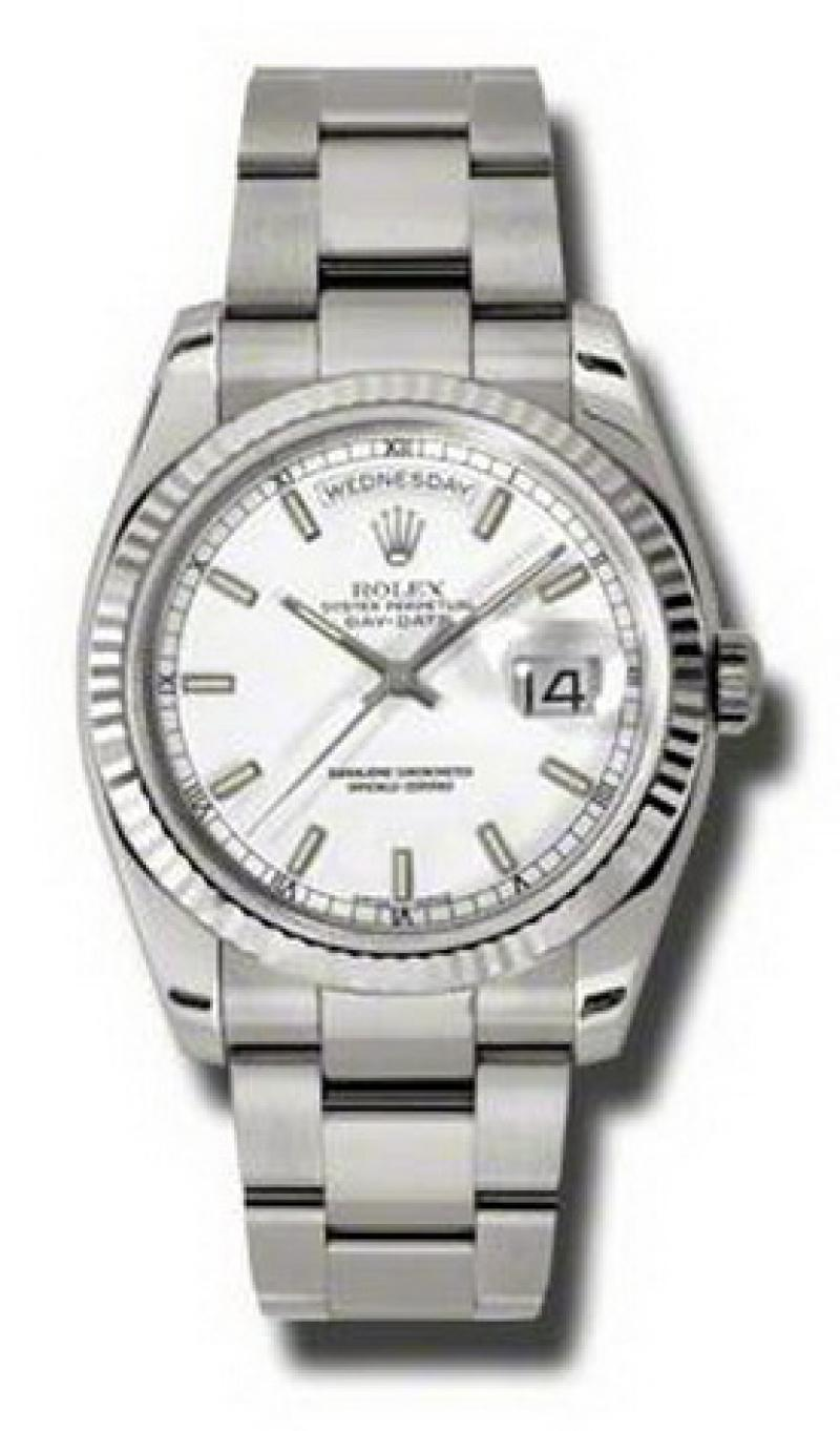 118239 wso Rolex White Gold Day-Date