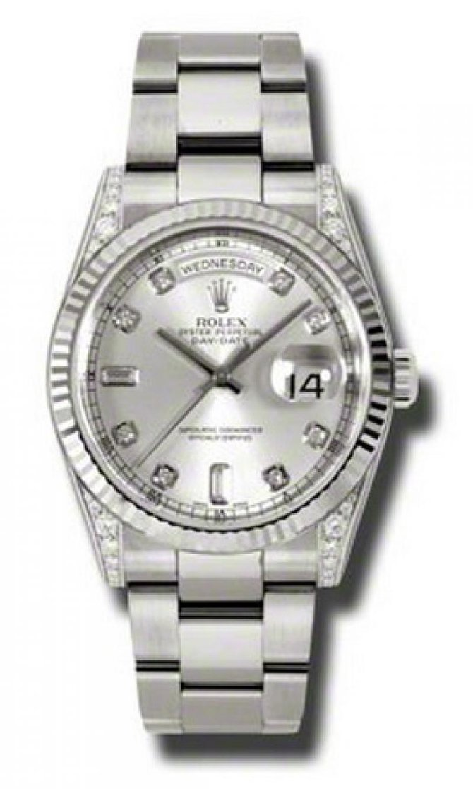 118339 sdo Rolex White Gold Day-Date