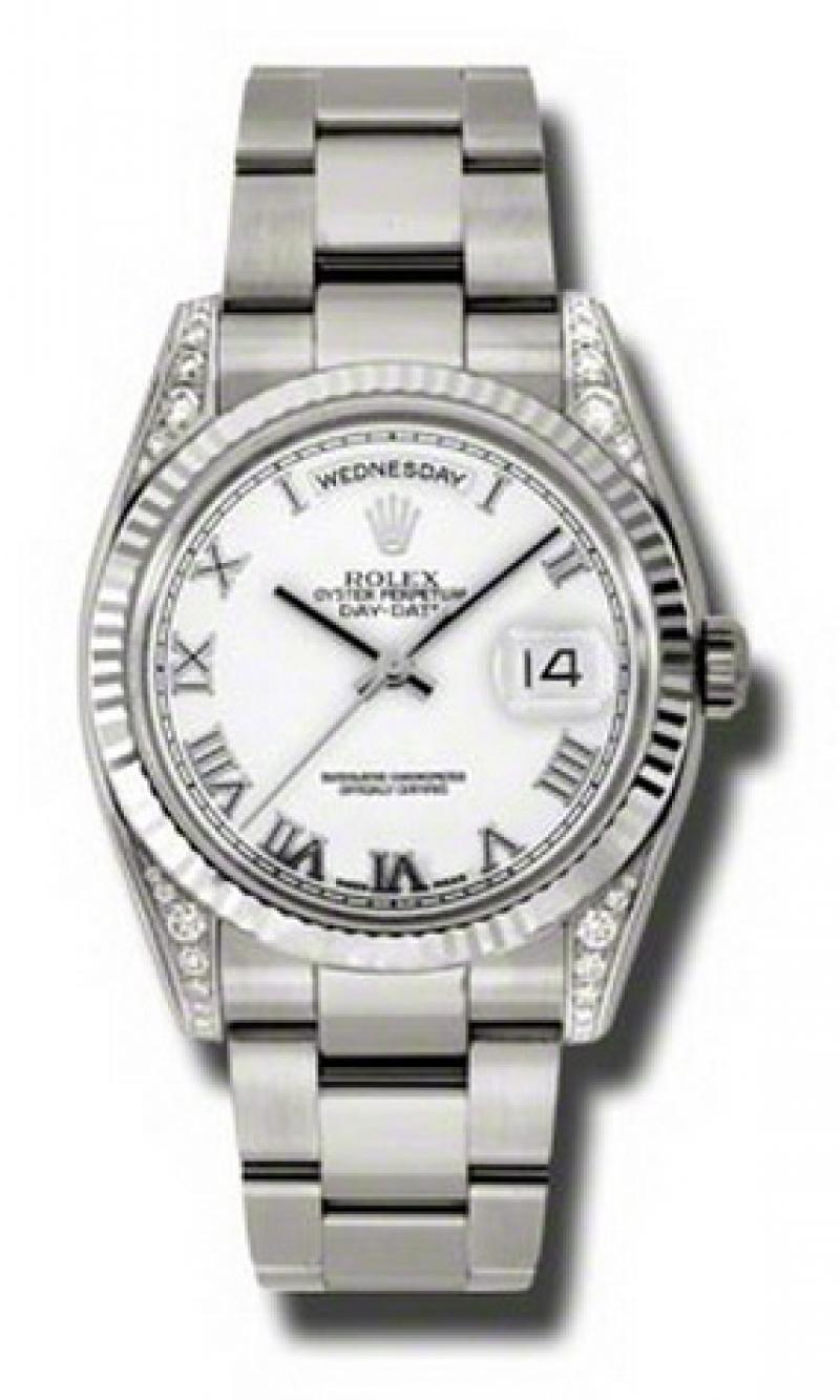 118339 wro Rolex White Gold Day-Date