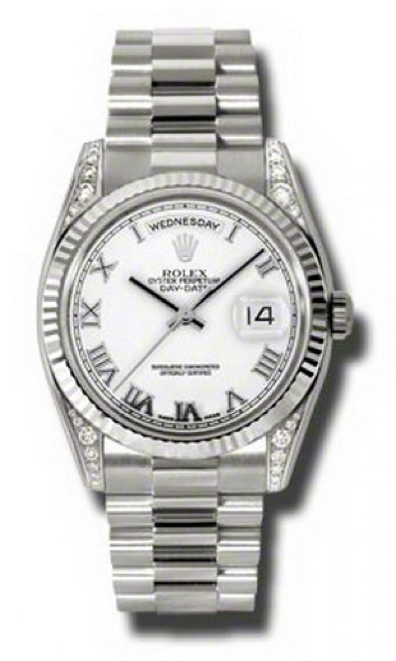 118339 wrp Rolex White Gold Day-Date