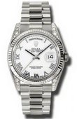 Rolex Day-Date 118339 wrp White Gold
