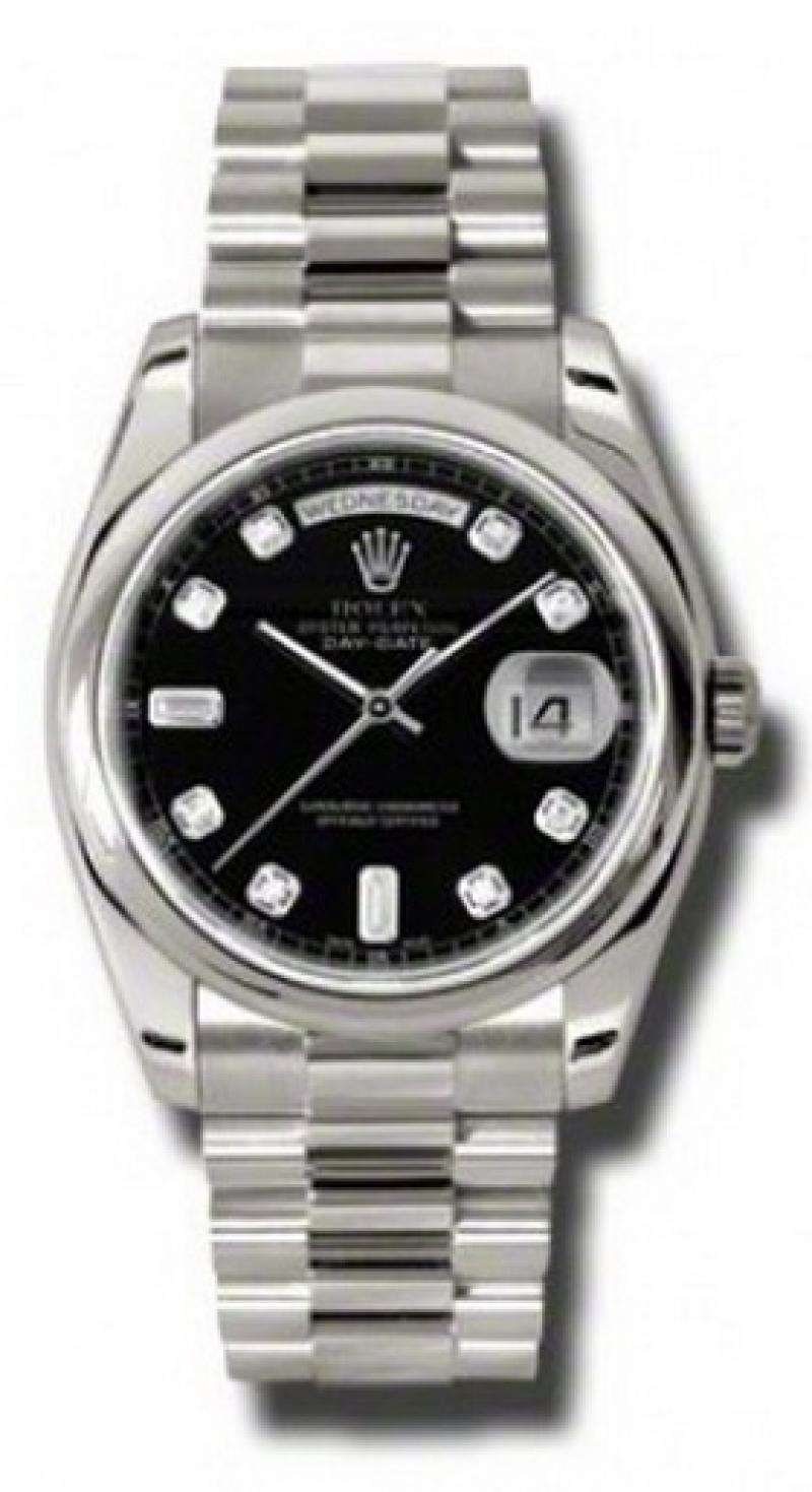 118209 bkdp Rolex White Gold Day-Date