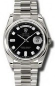 Rolex Day-Date 118209 bkdp White Gold