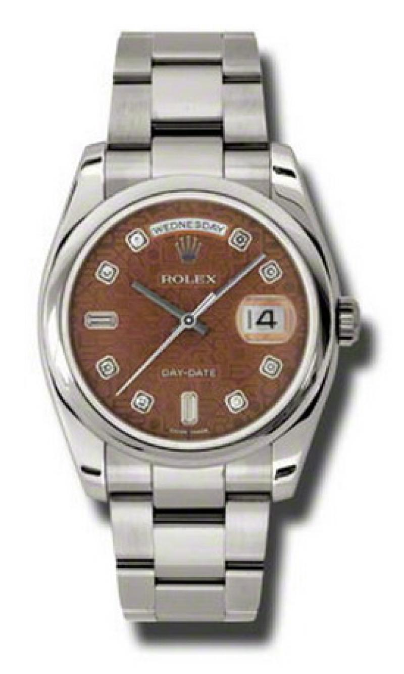 118209 hbjdo Rolex White Gold Day-Date