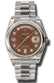 Rolex Day-Date 118209 hbjdp White Gold