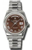 Rolex Day-Date 118209 hbrp White Gold