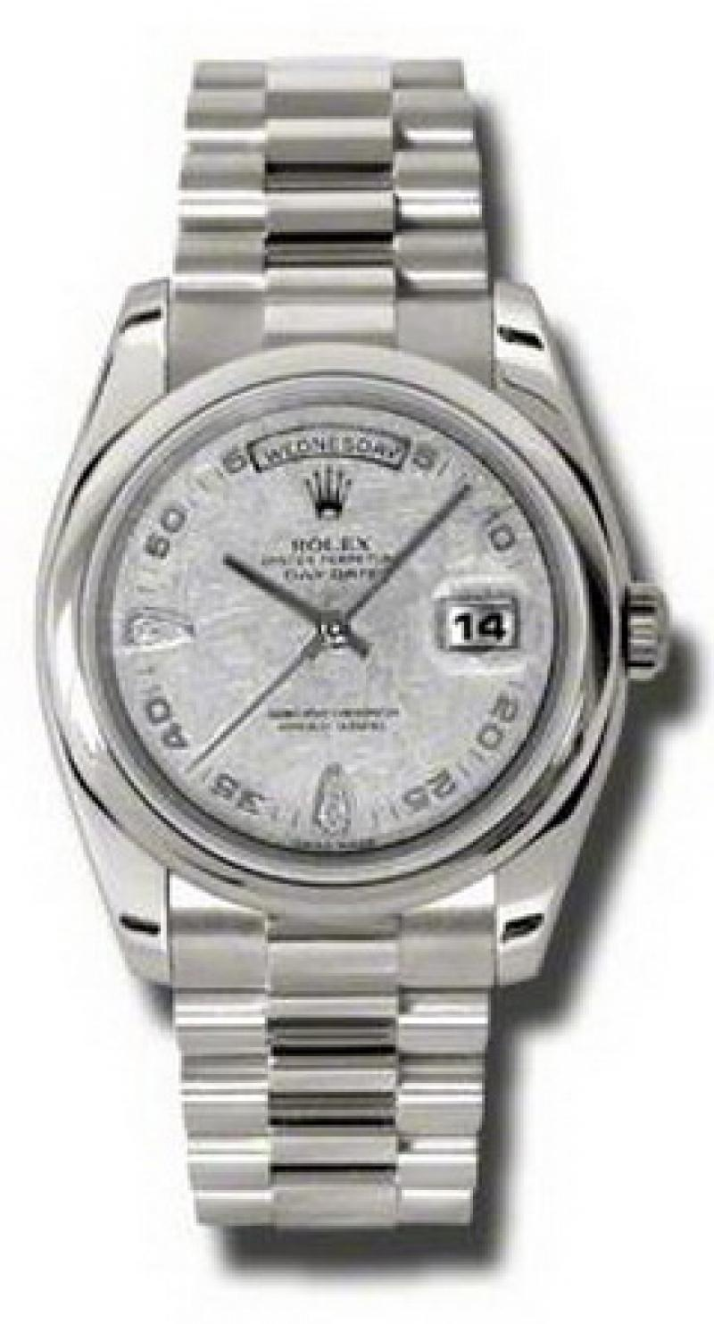 118209 mtadp Rolex White Gold Day-Date