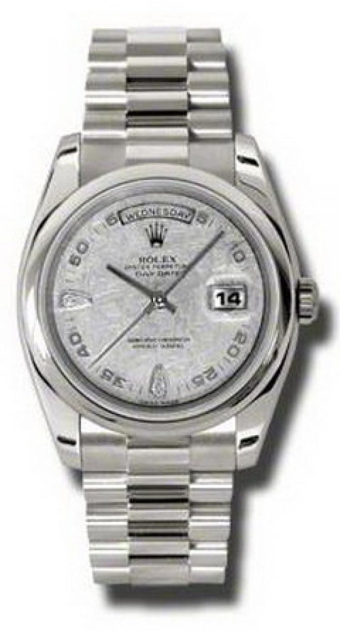 Rolex 118209 mtadp Day-Date White Gold