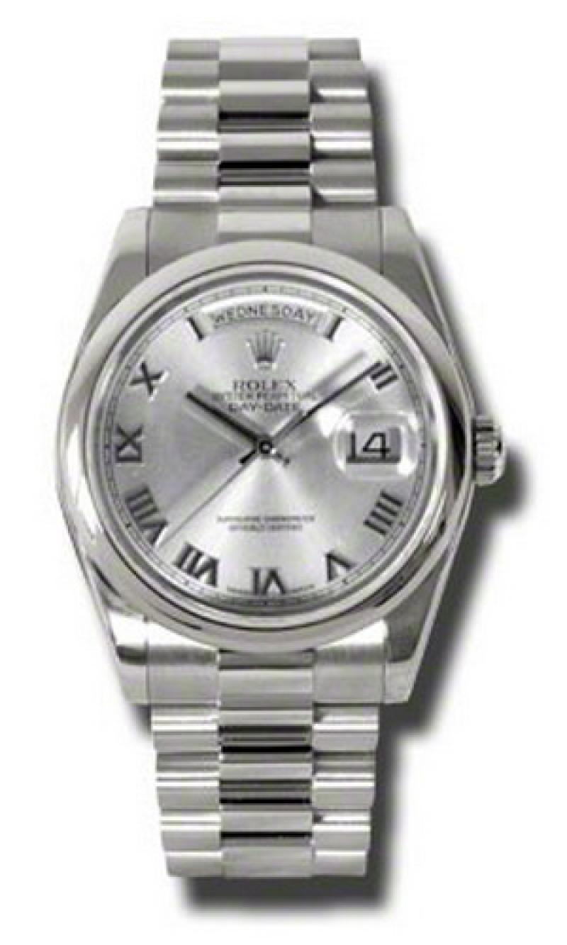 118209 rrp Rolex White Gold Day-Date