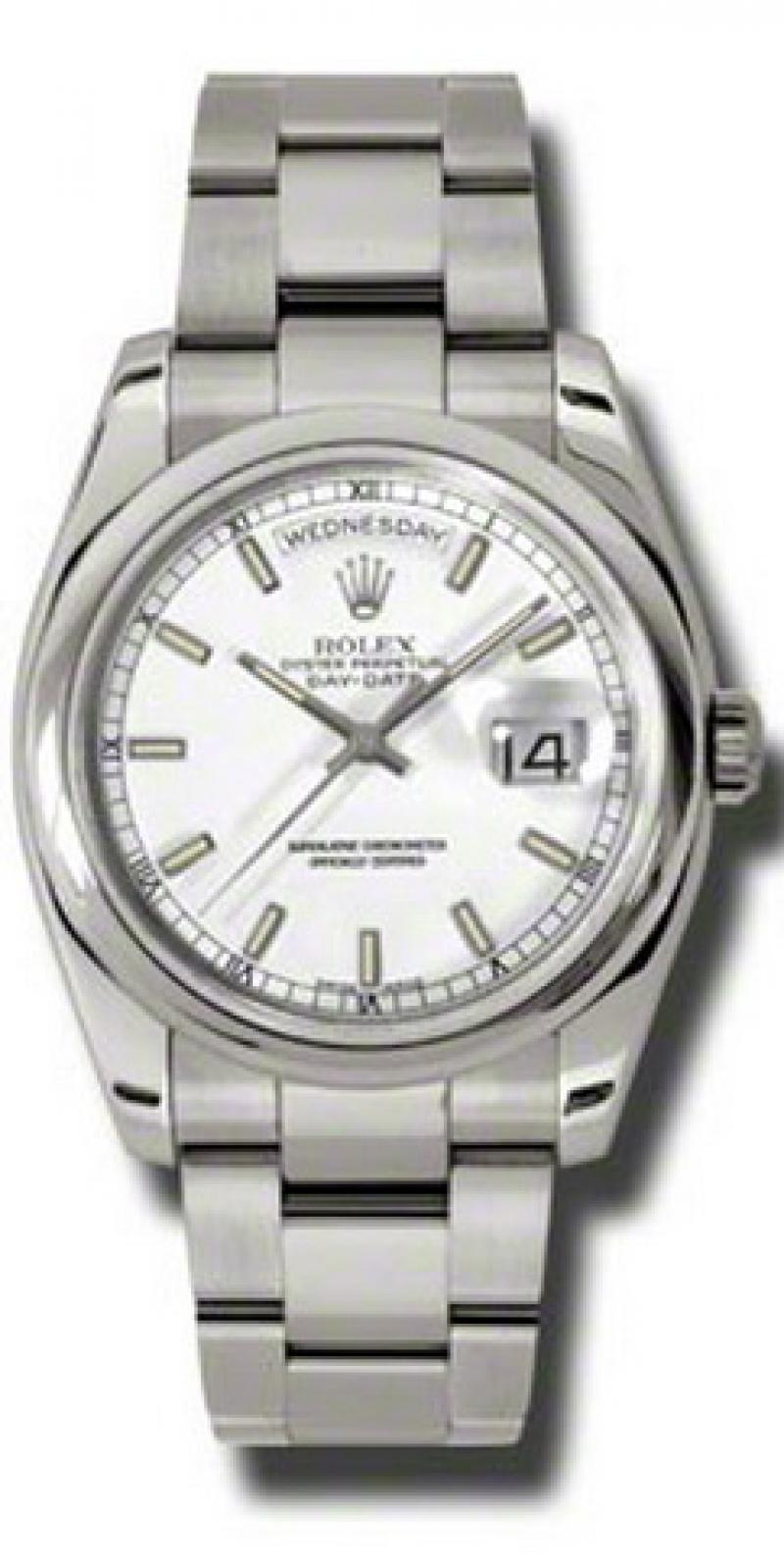 118209 wso Rolex White Gold Day-Date