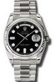 Rolex Day-Date 118239 bkdp White Gold