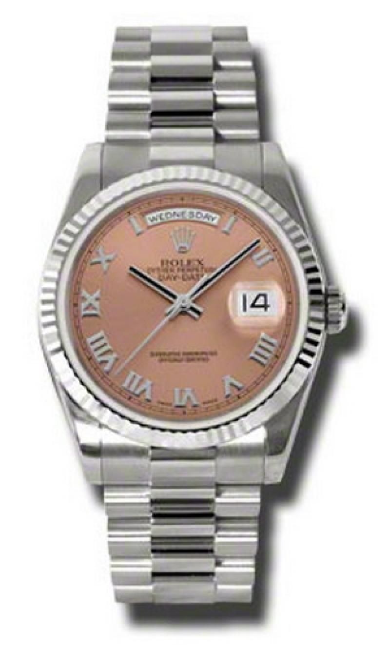 118239 crp Rolex White Gold Day-Date