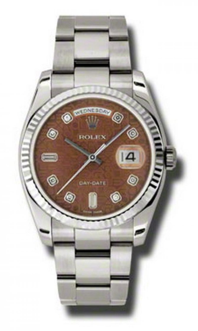 118239 hbjdo Rolex White Gold Day-Date