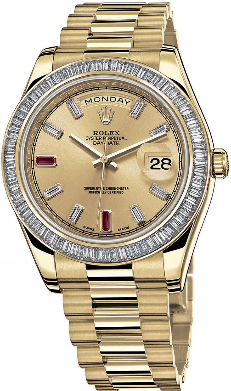 218398 BR Rolex Yellow Gold Day-Date