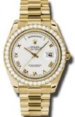 Rolex Day-Date 218348 wrp Yellow Gold