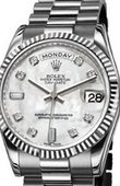 Rolex Day-Date 118239 whiteMOP diamonds White Gold