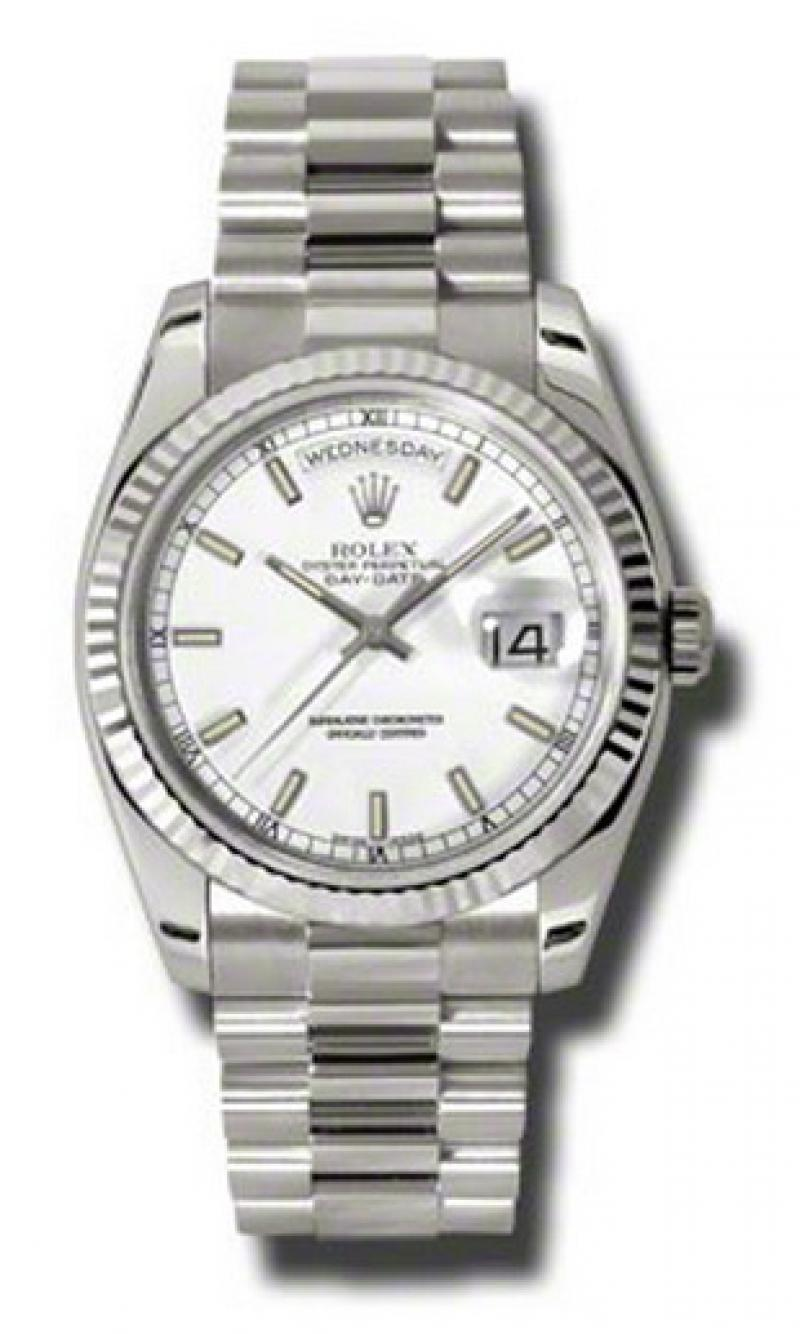 118239 wsp Rolex White Gold Day-Date