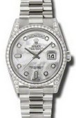 Rolex Day-Date 118389 mdp White Gold