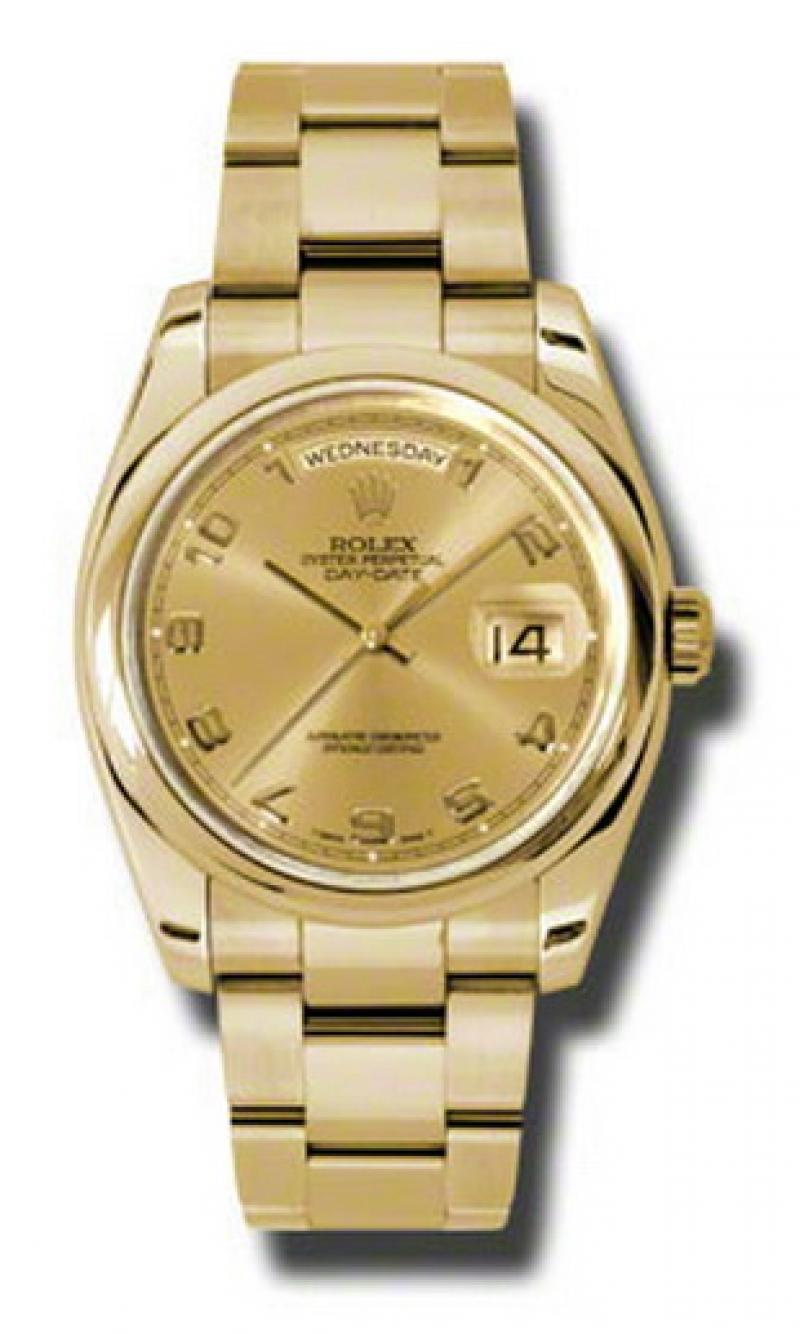 118208 chao Rolex Yellow Gold Day-Date