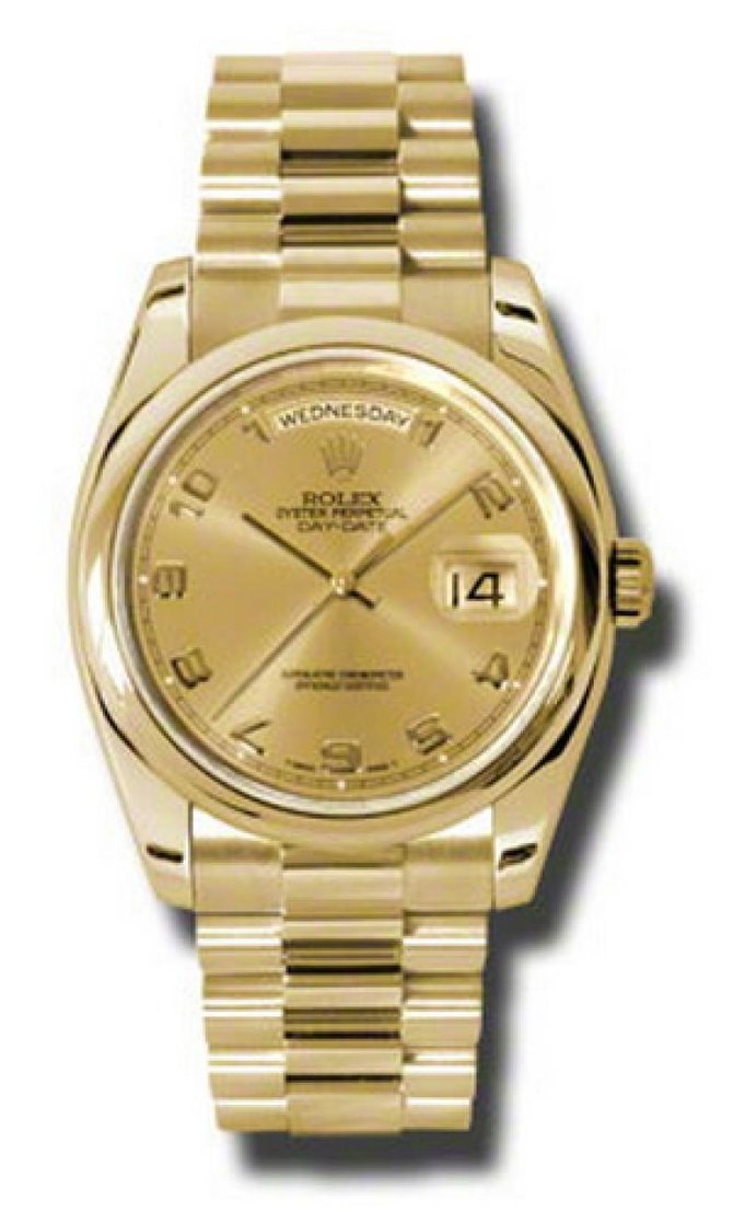 118208 chap Rolex Yellow Gold Day-Date