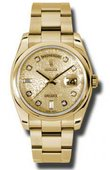 Rolex Day-Date 118208 chjdo Yellow Gold