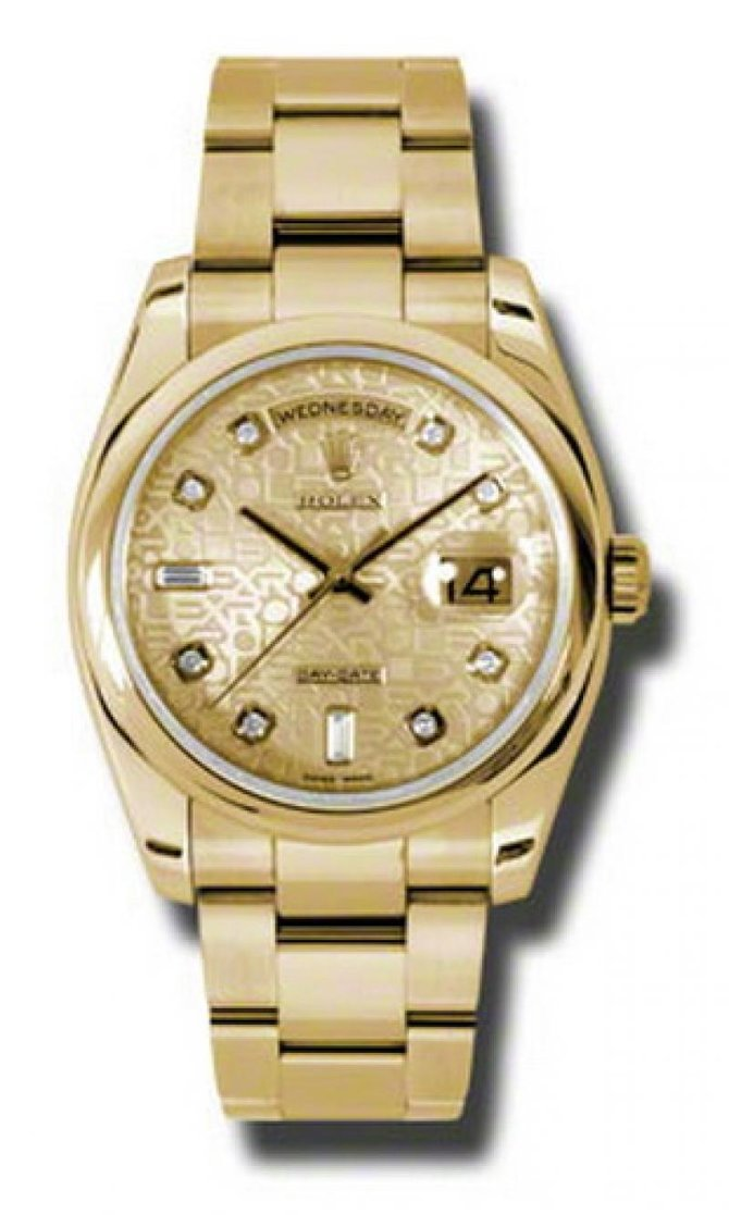 118208 chjdo Rolex Yellow Gold Day-Date