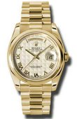 Rolex Day-Date 118208 iprp Yellow Gold