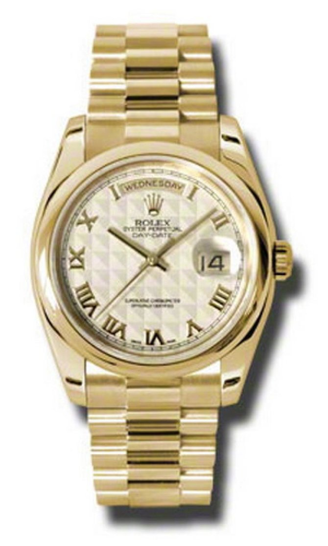 118208 iprp Rolex Yellow Gold Day-Date