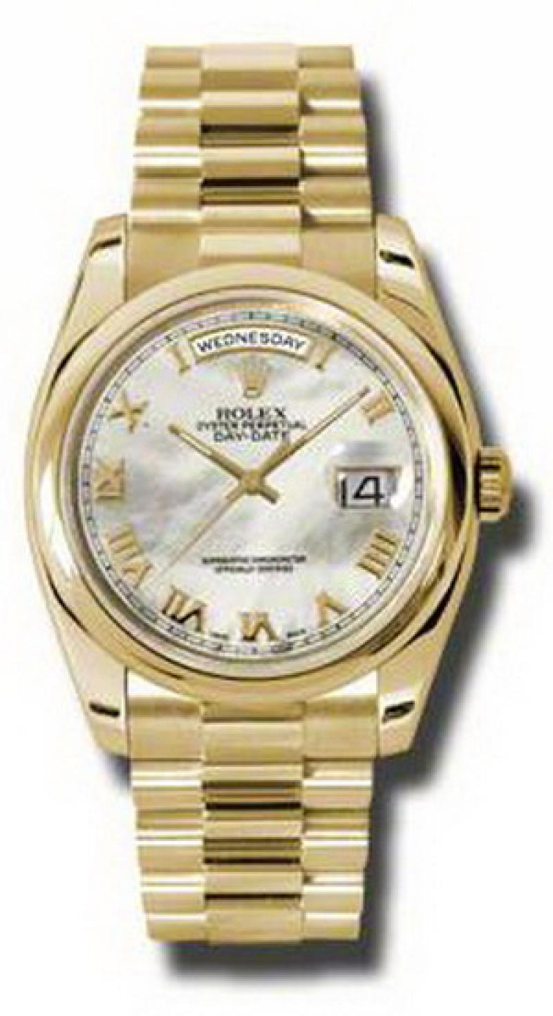 118208 mrp Rolex Yellow Gold Day-Date