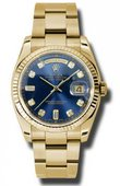 Rolex Day-Date 118238 bdo Yellow Gold