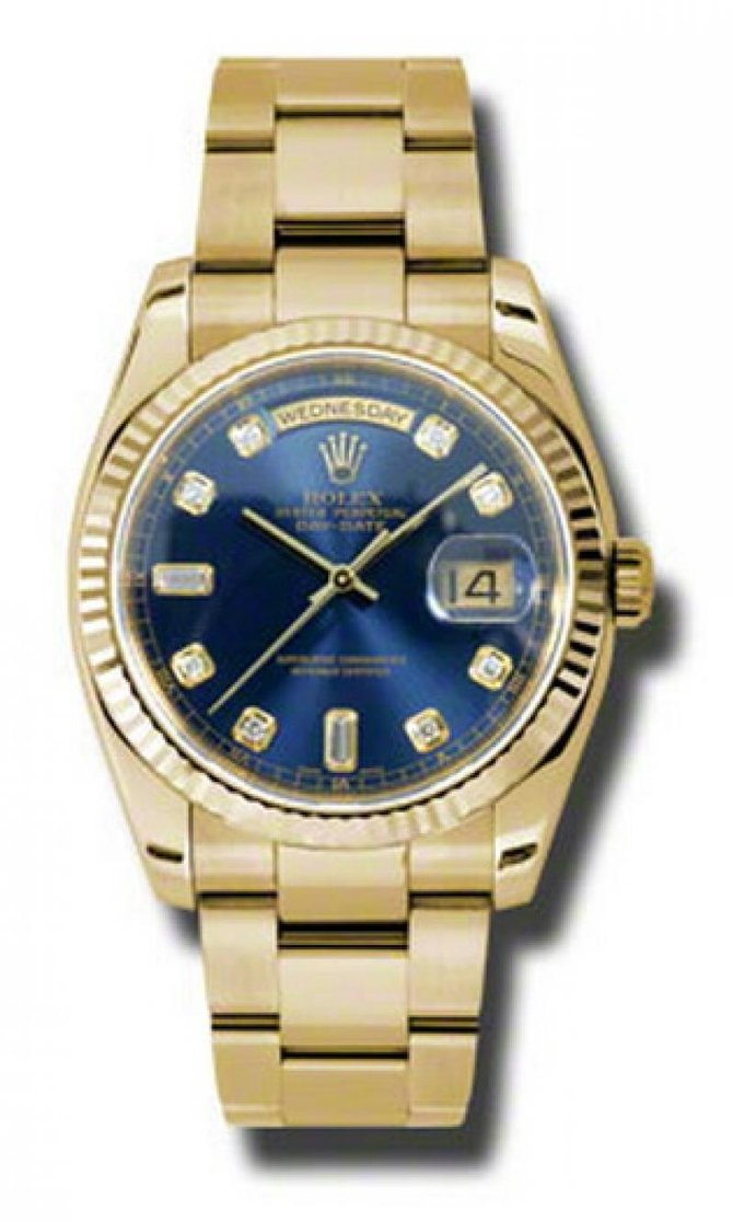118238 bdo Rolex Yellow Gold Day-Date