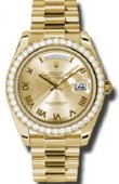 Rolex Day-Date 218348 chrp Yellow Gold