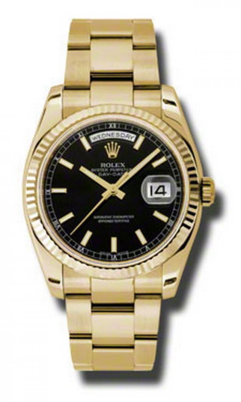 118238 bkso Rolex Yellow Gold Day-Date