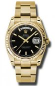 Rolex Day-Date 118238 bkso Yellow Gold