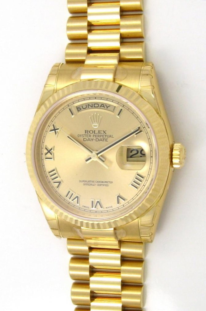 Rolex 118238 chrp Day-Date Yellow Gold - фото 2