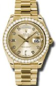 Rolex Day-Date 218348 chdp Yellow Gold