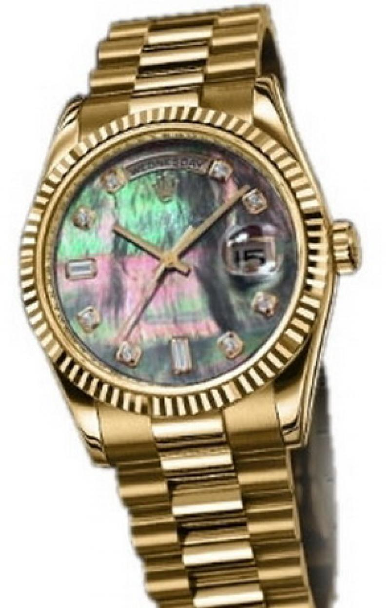 118238 dkmdp Rolex Yellow Gold Day-Date