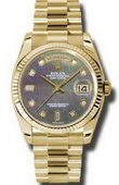 Rolex Day-Date 118238 dkmdp Yellow Gold